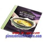 "Livre Vorwerk  ""50 recettes de famille"" TM 31"