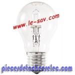 Ampoule halogène GLS 230V. / 52W ( 815lm )