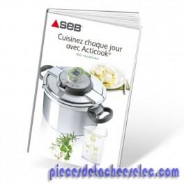 Livre de recette autocuiseur cocottes acticook seb autocuiseurs cocottes - Livre de recette pour multicuiseur philips ...