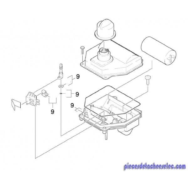 armoire electrique pour nettoyeur hp karcher karcher k. Black Bedroom Furniture Sets. Home Design Ideas