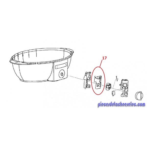 platine de commande cuiseur vapeur 11578 11579 magimix. Black Bedroom Furniture Sets. Home Design Ideas