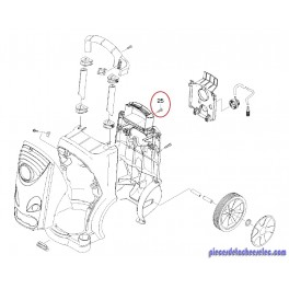 Vis M6*40 Nettoyeur Haute Pression HD 6/15 C/C PLUS Karcher