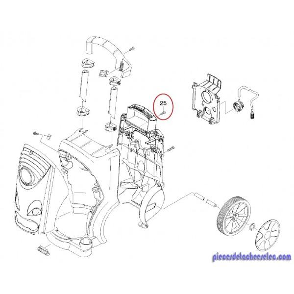 Vis m6 40 nettoyeur haute pression hd 6 15 c c plus - Karcher pieces detachees nettoyeur haute pression ...