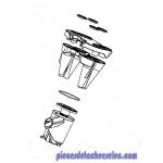 Separateur Complet pour Aspirateur Intensium Upgrade Rowenta