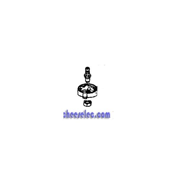embase soupape de fonctionnement pour cocotte clipso easy 6 8 10l de seb autocuiseurs. Black Bedroom Furniture Sets. Home Design Ideas