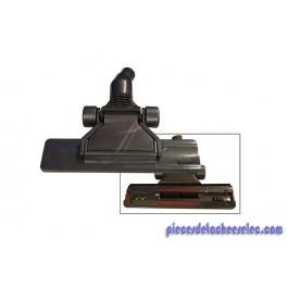 brosse plate noir universelle pour aspirateur sans sac. Black Bedroom Furniture Sets. Home Design Ideas