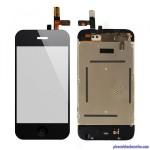 Vitre Noir + LCD pour iPhone 3G