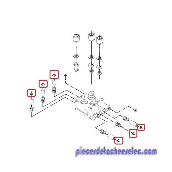 joint torique 15.1x1.6 pour nettoyeur haute pression alto 30ca