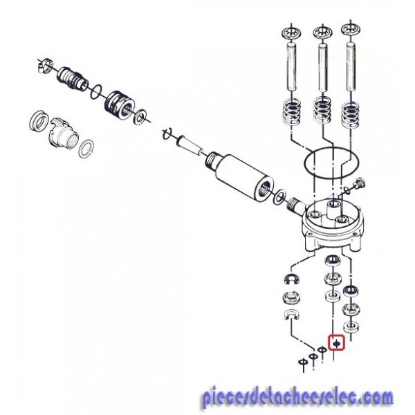 joint d14x22x6 pour nettoyeur haute pression alto 30ca compact 1