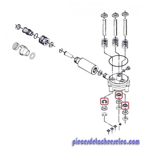 Joint d 39 huile pour nettoyeur haute pression nilfisk nettoyeurs haute pression compact nilfisk - Pieces detachees nettoyeur haute pression ...
