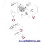 Boitier de Commande Complet pour Nettoyeur Haute Pression K4.800 Ecologic Karcher