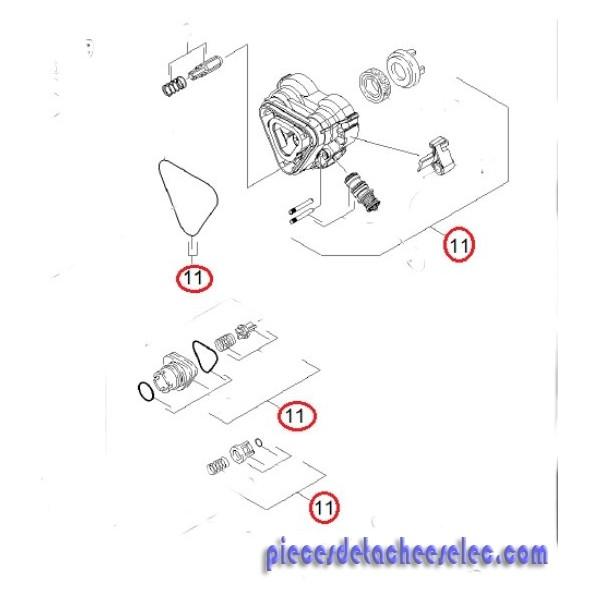 boitier de commande complet pour nettoyeur haute pression ecologic karcher karcher k4. Black Bedroom Furniture Sets. Home Design Ideas
