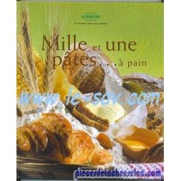 """Livre Vorwerk """"Mille et une pates...à pain"""""""
