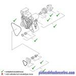 Pièce de Rechange de Tête de Pompe / de Cylindre pour Nettoyeur Haute Pression Kärcher