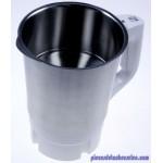 Kit Complet Couvercle + Couteaux + Bol 2L en inox pour Blender Soup and Co Moulinex