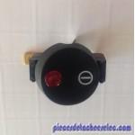 Interrupteur Complet Marche /Arrêt avec voyant et son cache pour Centrale Vapeur Laurastar / Delonghi