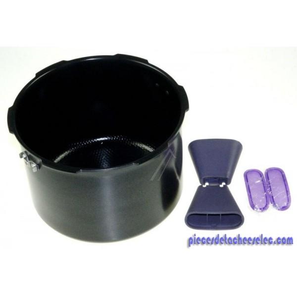 cuve cookeo 2 poign es pour cuiseur cookeo useb bluetooth smart 6l moulinex cuiseurs. Black Bedroom Furniture Sets. Home Design Ideas