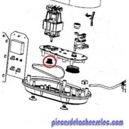 Petite poulie pour robot cuiseurs et multifonctions delimix qc350 sim o robo - Robot cuiseur multifonction delimix ...