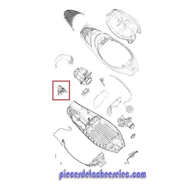 Remplissage Des Sacs : Indicateur de remplissage du sac pour aspirateur kobold vk
