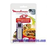 Clef USB de 25 recettes du monde pour cuiseur programmable Cookéo USB de Moulinex