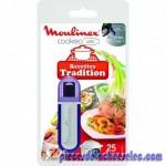 Clef USB de 25 Recettes Tradition pour Cuiseurs Programmables Cookéo USB 6L Moulinex