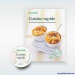 Pack Livre + Clé Recettes Cuisine Rapide pour Thermomix TM5 Vorwerk