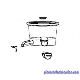 Corps avec joints et bouchon pour extracteur de jus pres - Extracteur de jus moulinex infiny juice ...