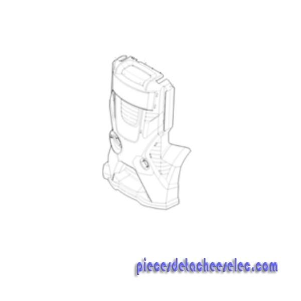 capot avant noir pour nettoyeur haute pression karcher karcher k5 premium ecologic pi ces. Black Bedroom Furniture Sets. Home Design Ideas