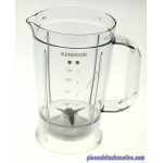 Bol Blender Blanc pour Robots Multifonctions KENWOOD
