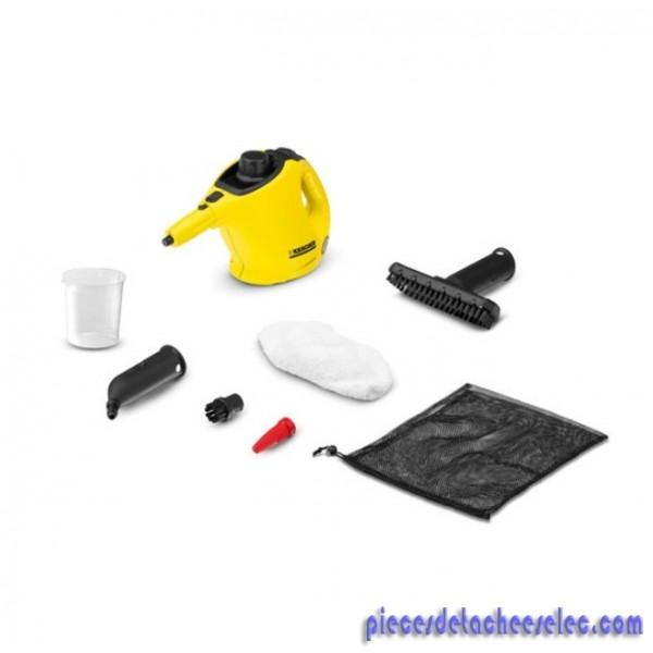 k rcher sc1 nettoyeur vapeur main l ger et compact pour. Black Bedroom Furniture Sets. Home Design Ideas