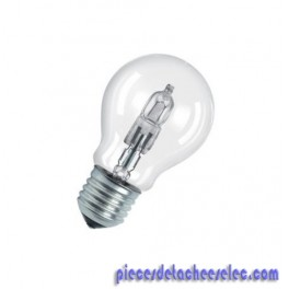 Ampoule Halogène Classic A 230V-57W Couleur de la Lumière Blanc Chaud