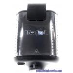 Coque Inférieur Coloris Argent - Noir pour Gaufrier King Size / 4 IN 1 Tefal