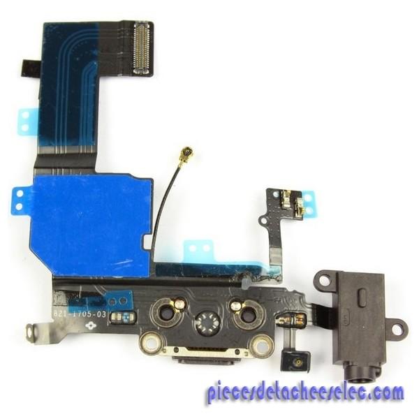 remplacement prise jack chargeur iphone 5s apple iphone 5 s pi ces d tach es elec. Black Bedroom Furniture Sets. Home Design Ideas