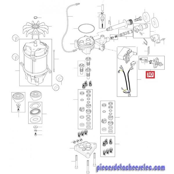 piston / vanne distributeur pour nettoyeurs haute pression nilfisk