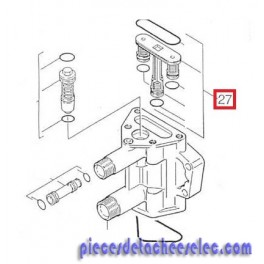 kit de clapet pour nettoyeur haute pression k580 k 695 karcher karcher k580 pi ces. Black Bedroom Furniture Sets. Home Design Ideas