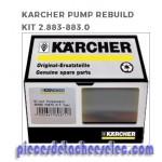 Kit Pièces de Pompe pour Nettoyeur Haute Pression 670MS Kärcher