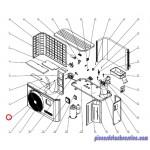 Hélice Ventilateur pour Pompes à Chaleur EnergyLine Pro ENP1MSC Hayward