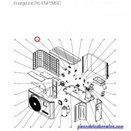 Panneau Supérieur pour Pompe à Chaleur EnergyLine Pro ENP1MSC Hayward