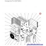 Condensateur Ventilateur pour Pompes à Chaleur EnergyLine Pro ENP1MSC Hayward