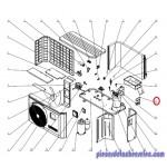 Trappe D'acces électrique pour Pompes à Chaleur EnergyLine Pro ENP1MSC Hayward