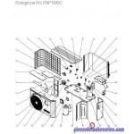 Panneau de Séparation pour Pompes à Chaleur EnergyLine Pro ENP1MSC Hayward