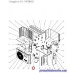 Compresseur pour Pompes à Chaleur EnergyLine Pro ENP1MSC Hayward