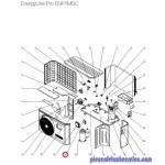 Régulateur LCD pour Pompes à Chaleur EnergyLine Pro ENP1MSC Hayward