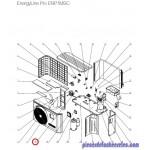 Raccordement Condensat pour Pompes à Chaleur EnergyLine Pro ENP1MSC Hayward