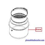Cuve 6L Inox pour Cocottes Seb