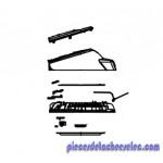 Couvercle Assemblé pour Multicuiseur Maestro QMC560 Riviera & Bar