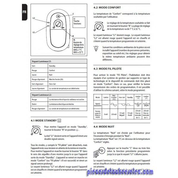 Boitier De Contrôle Pour Radiateur City Blanc Delonghi