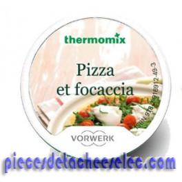 Clé Recettes Pizza et Focaccia pour Thermomix TM31/TM5 Vorwerk