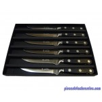 Boîte de 6 Couteaux SDS