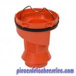 Séparateur orange + joint pour Nettoyeur Vapeur Rowenta